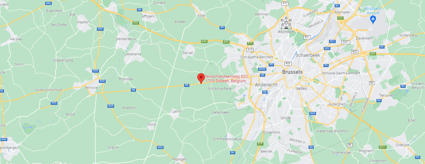 dataflex locatie map